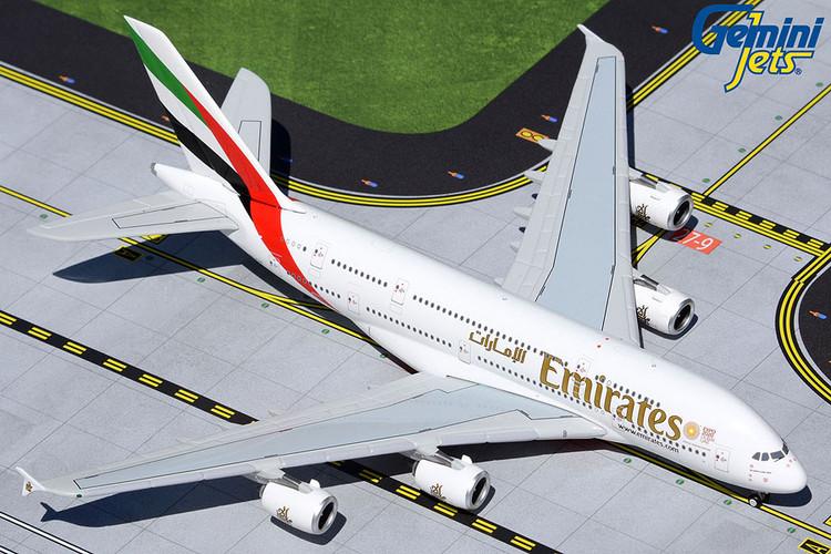GeminiJets Emirates Airbus A380 A6-EUD 1/400 GJUAE1941