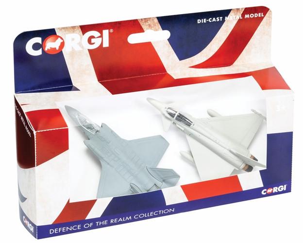 "Corgi ""Defence of the Realm Collection - F-35 and Typhoon"""