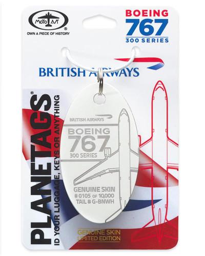 PlaneTag British Airways Boeing 767-300 G-BNWH White