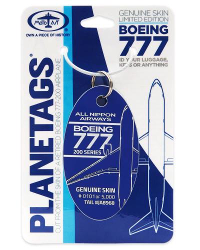 PlaneTag ANA Boeing 777 JA8968 Dark Blue