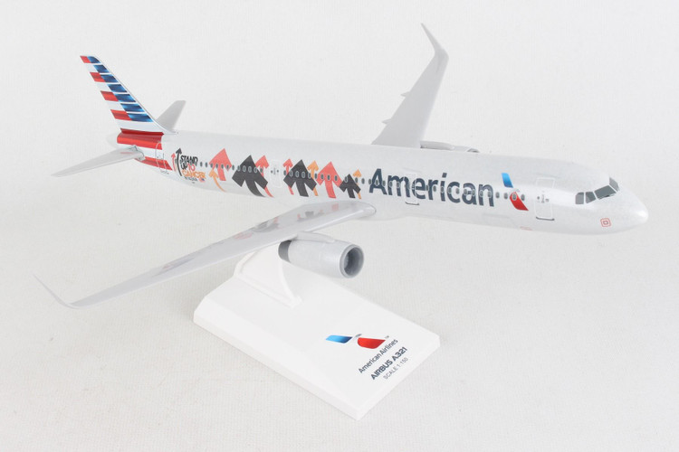 SkyMarks American Airlines Airbus A321 'Stand Up to Cancer' N162AA 1/150 SKR1061