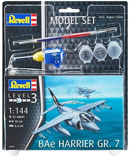 Revell Model Set BAe Harrier GR.7 Model Kit 1/144