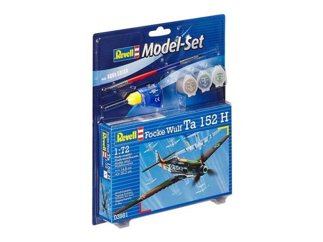 Revell Model Set Focke Wulf Ta 152 H Model Kit 1/72