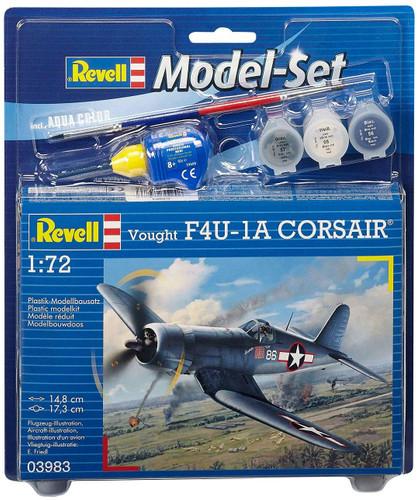 Revell Model Set Vought F4U-1D CORSAIR Model Kit 1/72