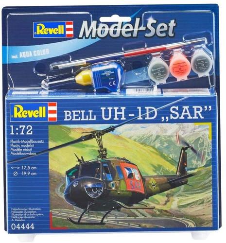 """Revell Model Set Bell UH-1D """"SAR"""" Model Kit 1/72"""