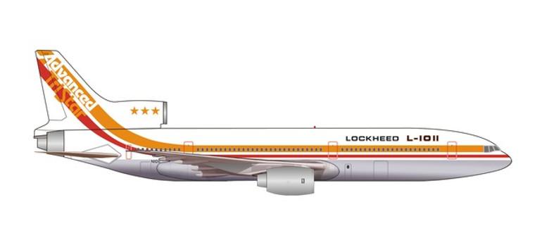 Herpa Lockheed Corporation L-1011-1 TriStar - TriStar 50th Anniversary – N1011 1/500 535571