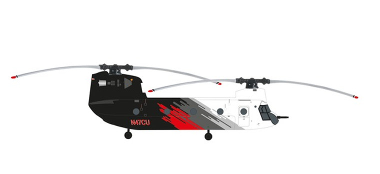 Herpa Coulson Aviation Boeing CH-47D Chinook – N47CU 1/200 571517