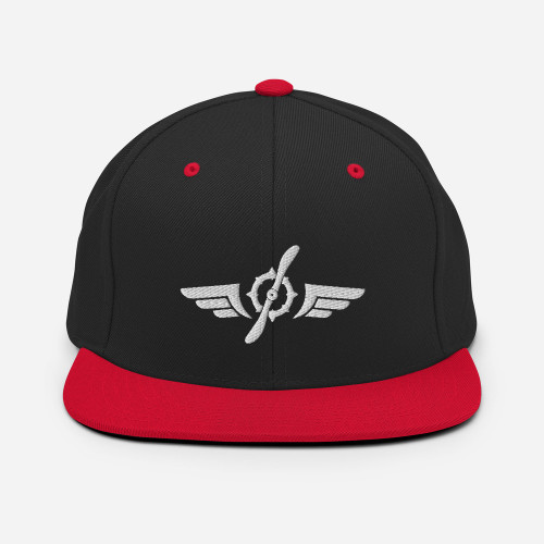Aviation Inspired Snapback Hat