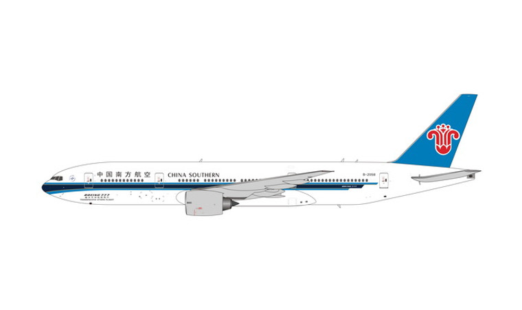 Phoenix China Southern Boeing 777-200ER B-2058 1/400 PH11680