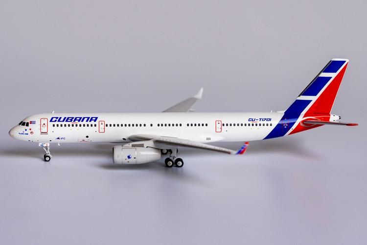 NG Models Cubana Tupolev Tu-204-100E CU-T1701 <new moulds> 1/400 NG40001