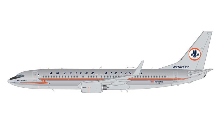 "GeminiJets American Airlines Boeing 737-800 N905NN ""Astrojet"" Polished 1/200"