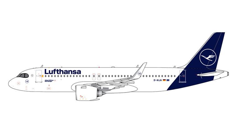 GeminiJets Lufthansa Airbus A320Neo D-AIJA New Livery 1/400 GJDLH1968