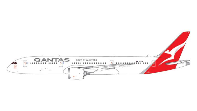 GeminiJets Qantas Airways Boeing 787-9 VH-ZNK 1/400 GJQFA1995