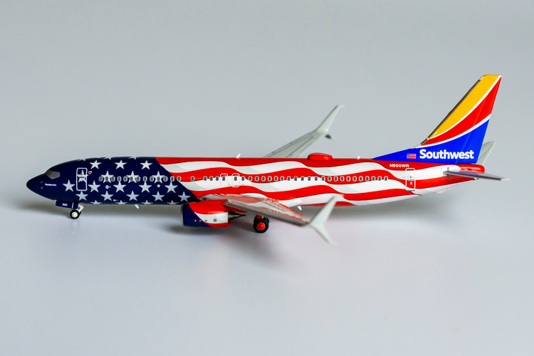 NG Models Southwest Airlines 737-800/w N500WR <Freedom One> 1/400