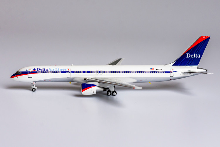 "NG Models Delta Air Lines 757-200 N601DL <""Ron Allen"" livery> 1/400"