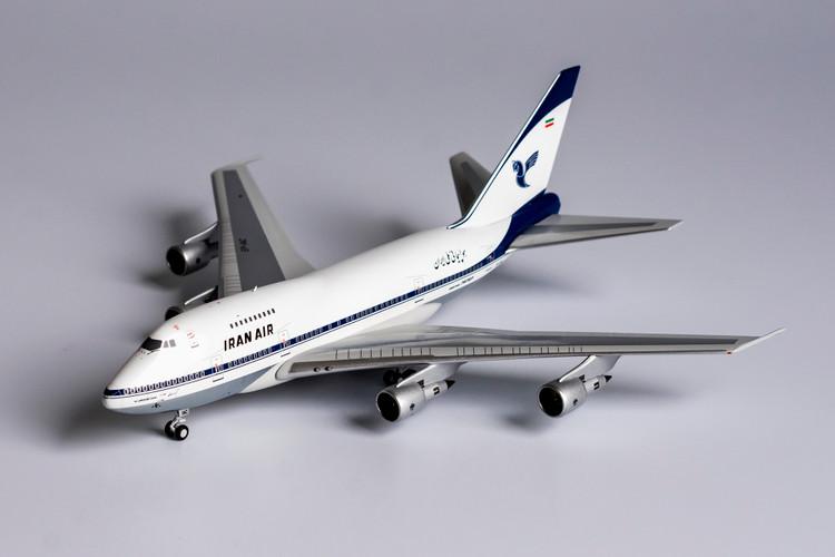 NG Models Iran Air 747SP EP-IAC <late 1970's livery> 1/400