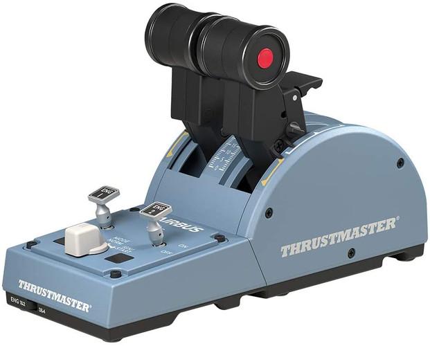 Thrustmaster TCA Quadrant Airbus Edition: Ergonomic Replica of the Airbus Throttle Quadrant - Compatible with PC