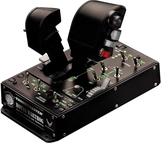 Thrustmaster Hotas Warthog Dual Throttle - Stand Alone Throttle - A10 Warthog - for Windows (PC)