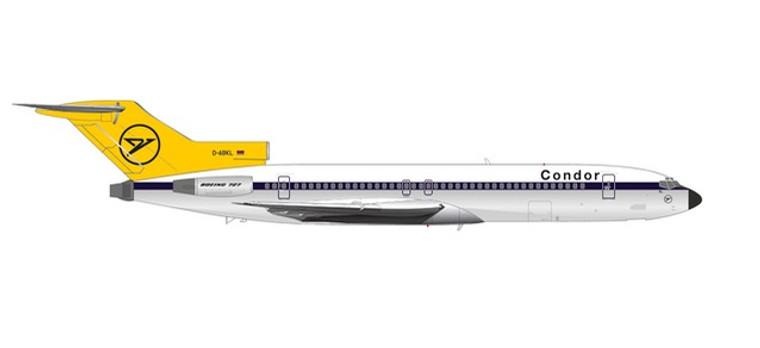 Herpa Condor Boeing 727-200 – D-ABKL 1/200