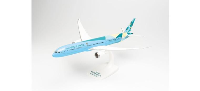 """Herpa Etihad Airways Boeing 787-10 """"Greenliner"""" – A6-BMH 1/200"""