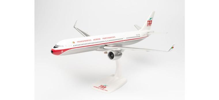 Herpa TAP Air Portugal Airbus A321neo - Retro anniversary colors – CS-TJR 1/100