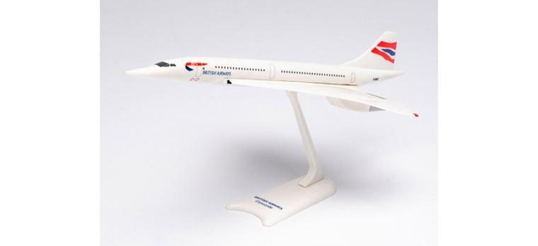 Herpa British Airways Aérospatiale-BAC Concorde – G-BOAC 1/250