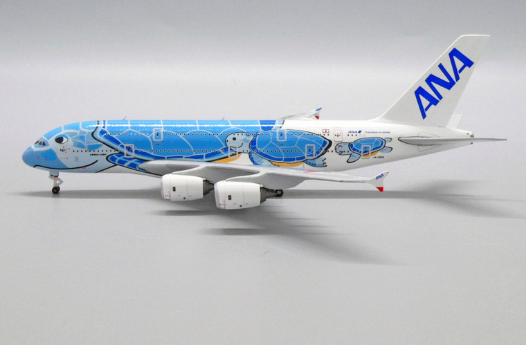 JC Wings All Nippon Airways Airbus A380 Flying Honu - Lani Livery JA381A 1/500