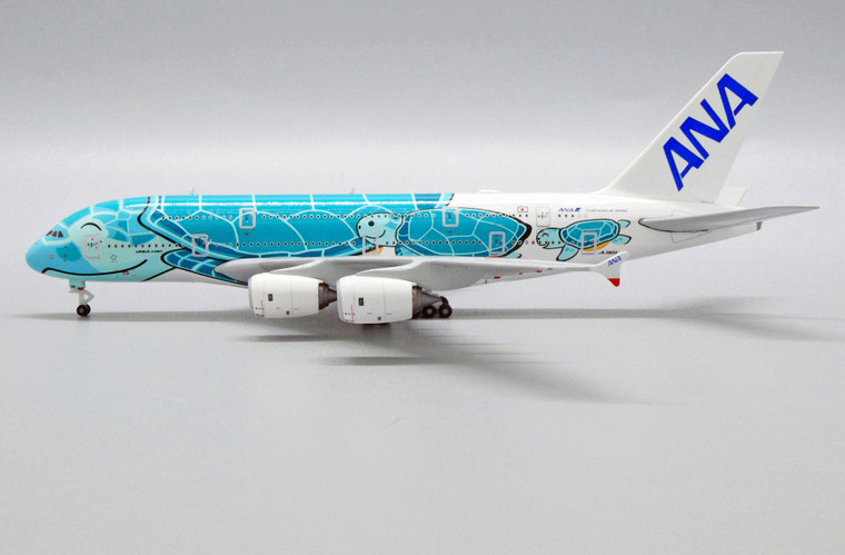 JC Wings All Nippon Airways Airbus A380 Flying Honu - Kai Livery JA382A 1/500