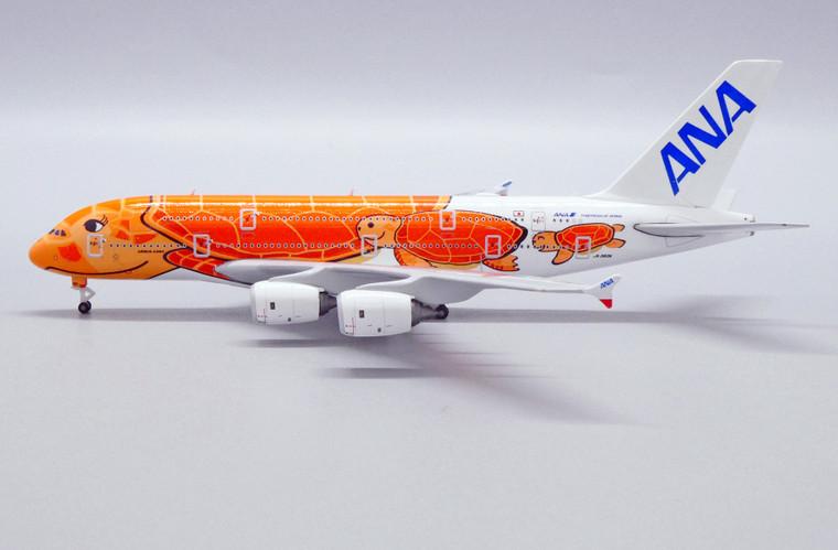 JC Wings All Nippon Airways Airbus A380 Flying Honu - Ka La Livery JA383A 1/500
