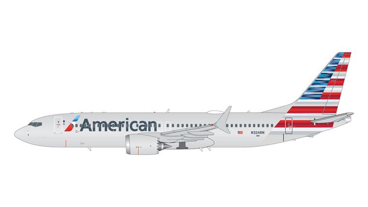GeminiJets American Airlines Boeing 737-Max8 N324RN 1/200 G2AAL1004