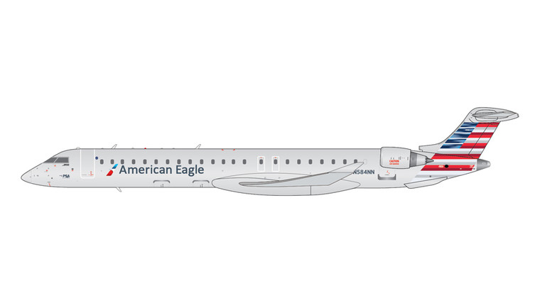 GeminiJets American Eagle Bombardier CRJ900LR N584NN 1/200 G2AAL621
