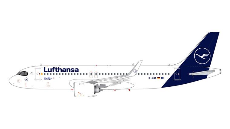GeminiJets Lufthansa Airbus A320Neo D-AIJA 1/200 G2DLH816