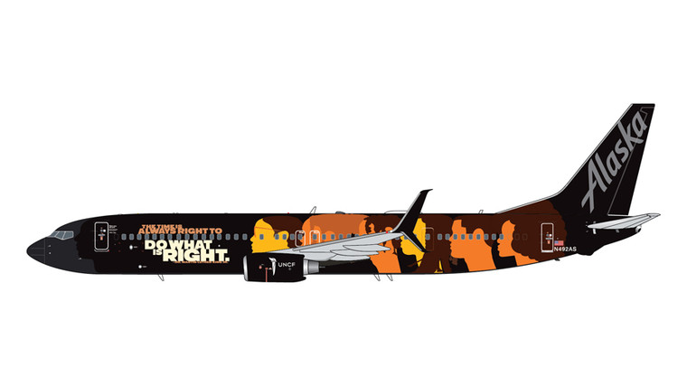 GeminiJets Alaska Airlines Boeing 737-900ER N492AS Our Commitment 1/400 GJASA2026