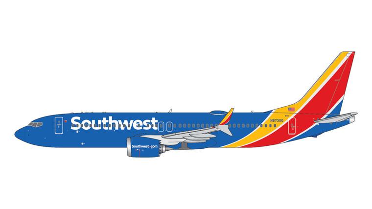 GeminiJets Southwest Airlines Boeing 737-Max8 N8730Q 1/400 GJSWA2017