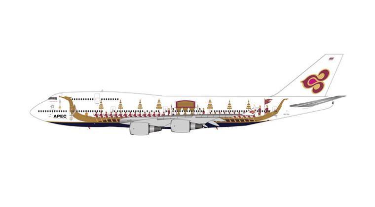 Phoenix Thai Airways Boeing 747-400 HS-TGJ 1/400