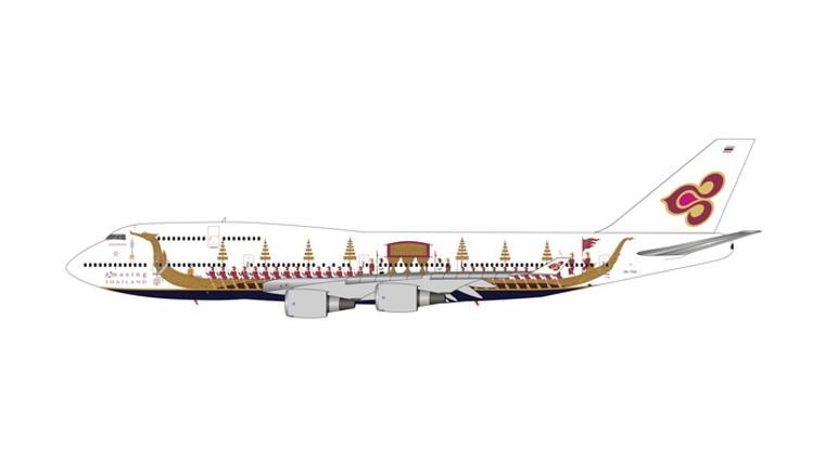 Phoenix Thai Airways Boeing 747-400 Royal Barge HS-TGO 1/400