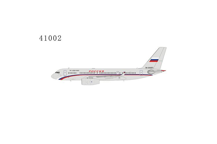 NG Models Russia State Transport Company Tupolev Tu-204-300 RA-64057 1/400