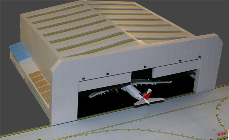 GeminiJets Wide-Body Airport Hangar 1/400