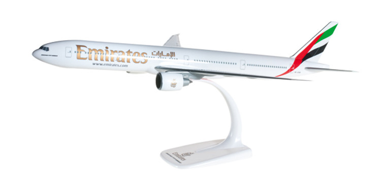 Herpa Snap-Fit Emirates Boeing 777-300ER 1/200