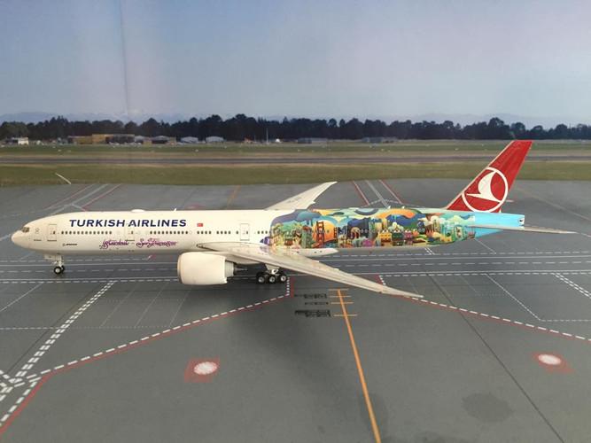 Eagle (Phoenix) Turkish Airlines Boeing 777-300ER 'San Francisco' 1/200