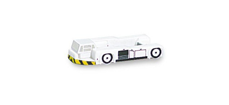 Herpa Set of 10 Airplane Towing Tractors 1/500 520188