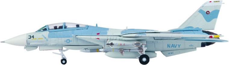 Hogan US Naval Navy Fighter Weapon School F-14A TOPGUN 34 Power Puff 1/200