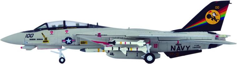 "Hogan US Navy F-14D VF-31 ""Tomcatters"", CVW-14, CVN-72 1/200"