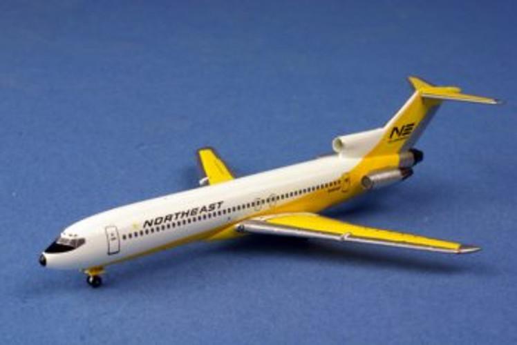"AeroClassics Northeast ""Yellowbirb"" Boeing 727-200 N1468 1/400"