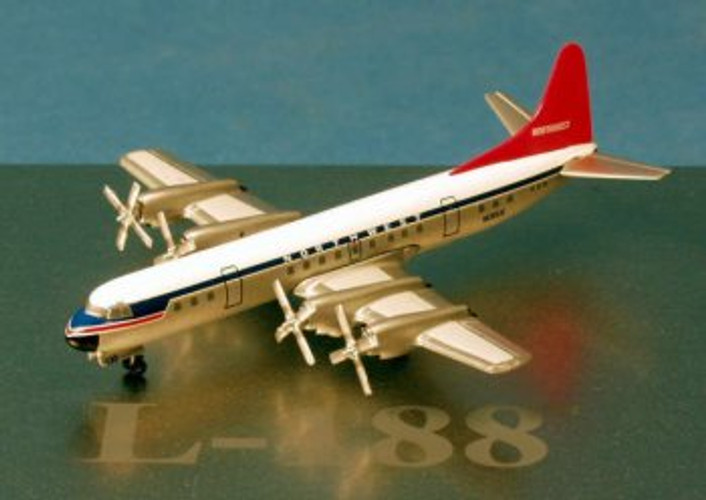 Dragon Wings Northwest Airlines L-188A Electra 1/400