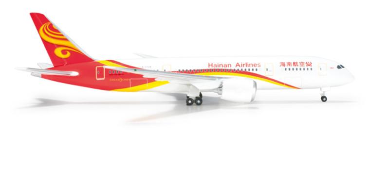 Herpa Hainan Airlines Boeing 787-8 Dreamliner 1/500 526296