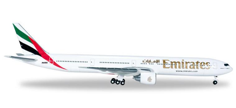 Herpa Emirates Boeing 777-300ER 1/500 518277-004