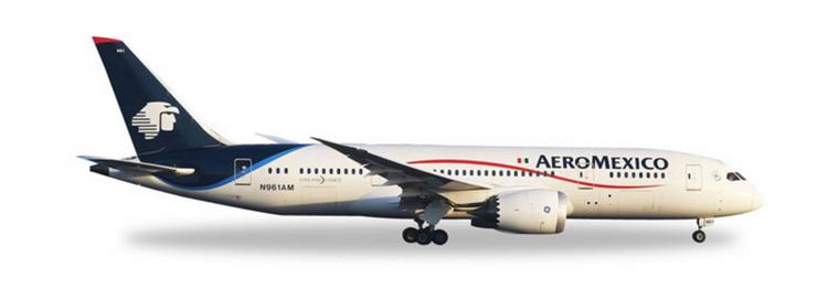 Herpa Aeromexico Boeing 787-8 Dreamliner 1/500 529815