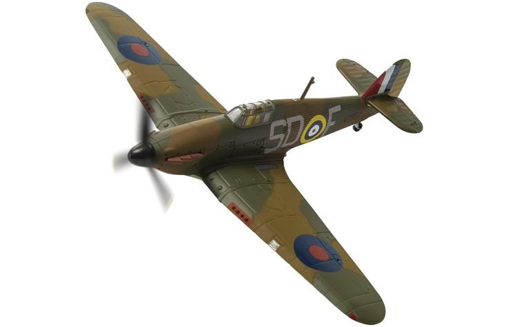 Corgi Hawker Hurricane Mk.I V7795 Plt. Off W Vale, Crete 1941 1/72
