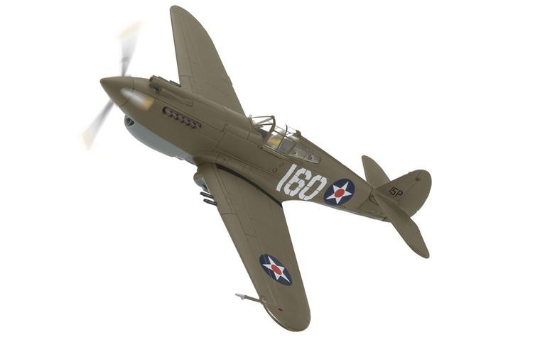 Corgi Curtiss P-40B Warhawk, 160/15P, 2nd Lt. George Welch, 47th PS, 15th PG, USAAF, Pearl Harbor 1/72